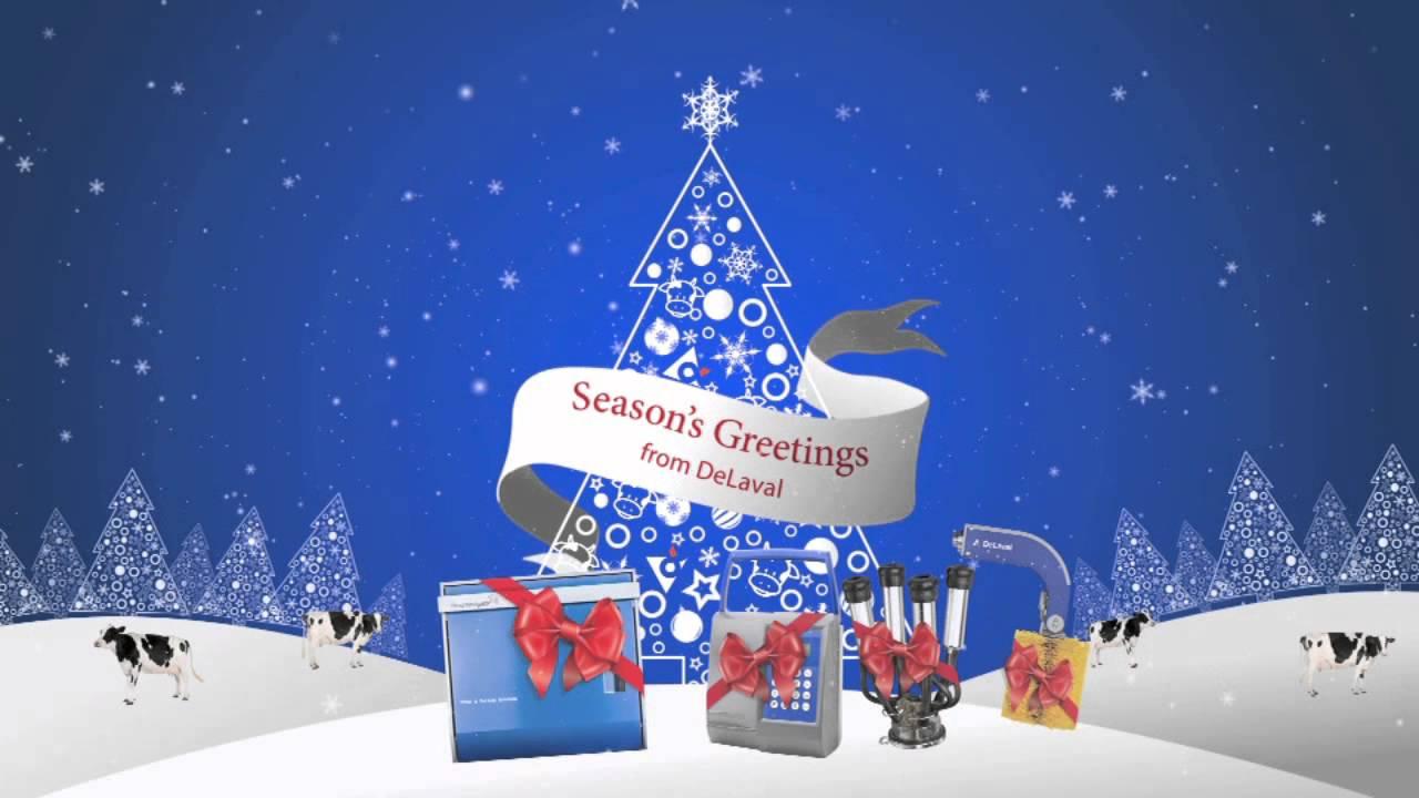 Delaval Christmas Ecard Video Marketing Youtube