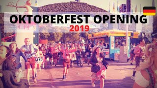 Oktoberfest 2019 opening in Munich [Osmo Pocket / 4K]