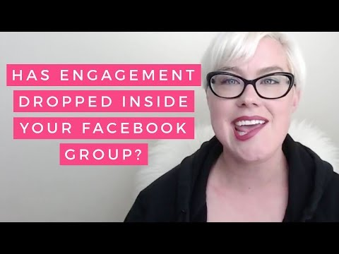 Has Engagement Dropped Inside Your Facebook Group?