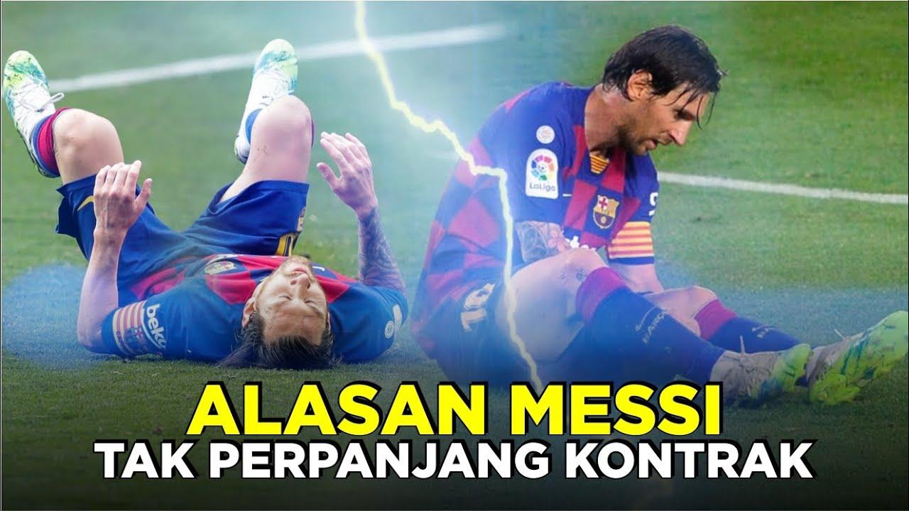 Hentikan Negosiasi Kontrak, Ada Apa dengan Messi?
