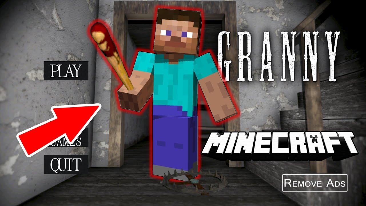 Granny - это Стив из *Minecraft* ?!? Смешные Моменты с *Granny* (ч.79)