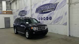 Preowned 2011 Ford Escape XLT W/ 3.0L V6, Leather, Sunroof Overview | Boundary Ford