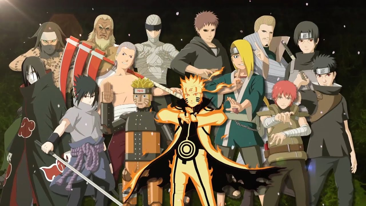 Naruto Shippuden Ultimate Ninja Storm Revolution Tout