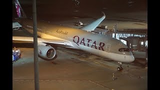 TRIP REPORT , BUSINESS CLASS ,   A350 QATAR AIRWAYS ,  Tokyo HND to Doha DOH