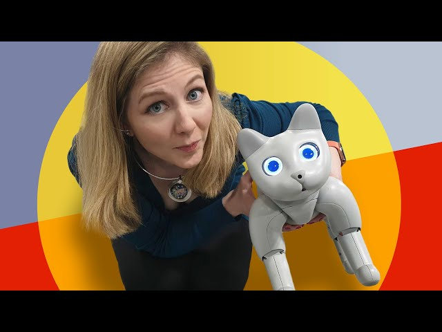 Get ready to cuddle with this bionic robot cat