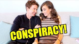 REACTING TO CONSPIRACY THEORIES ABOUT OUR RELATIONSHIP!