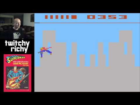 Superman for Atari 2600 - Twitchy Richy