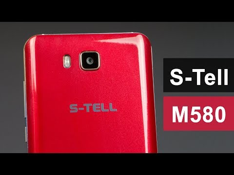 S-TELL M580 - Обзор смартфона на Android 8.1 Go edition