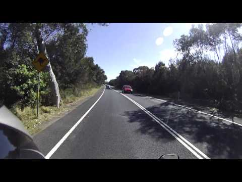 Narrabeen, Frenches Forest, Dee Why Sunday Motorcycling, Sydney Australia 澳洲悉尼週末騎車
