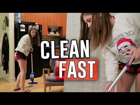 how I clean my entire apartment FAST // Jill Cimorelli