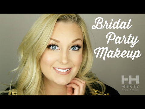 Quick and Easy Bridal Party Wedding Makeup Tutorial - Chit Chat Talk Through
