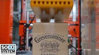 Packaging line for Brauerei C. & A. VELTINS