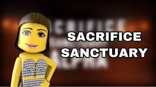 PLAYING SACRIFICE SANCTUARY ON ROBLOX