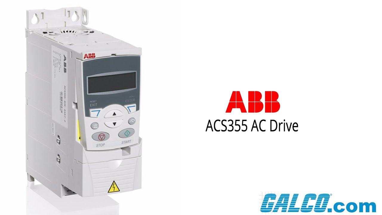 abb acs 355 ac drive [ 1280 x 720 Pixel ]