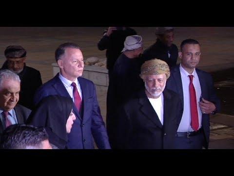 روابي تستقبل وزير خارجيّة سلطنة عُمان