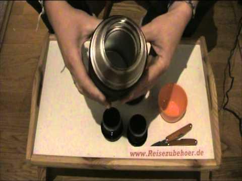 isolierflasche von esbit mit 1l fassungsverm gen wg. Black Bedroom Furniture Sets. Home Design Ideas