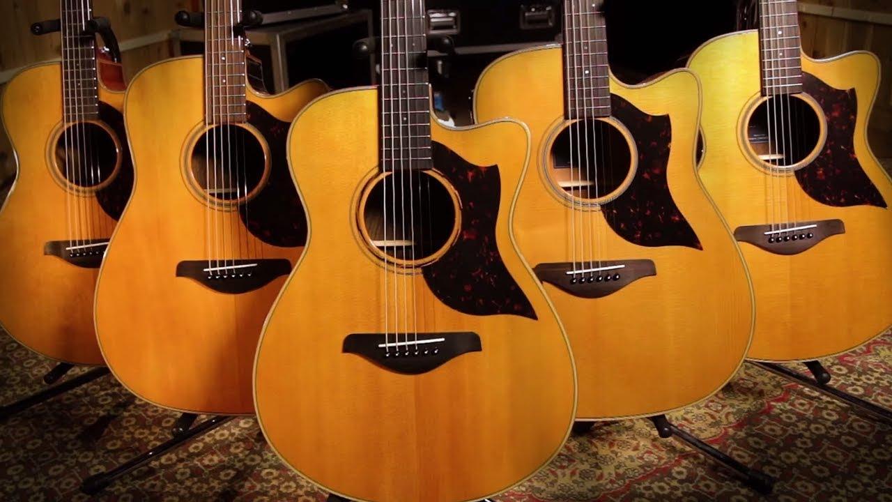 Yamaha A Series Acoustic Guitars