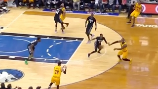 LeBron James EMBARRASSES Andrew Wiggins with ...