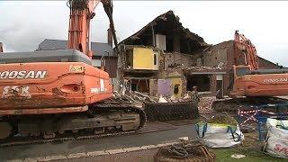 Bertincourt : une maison fragilisée par des galeries souterraines a dû être détruite