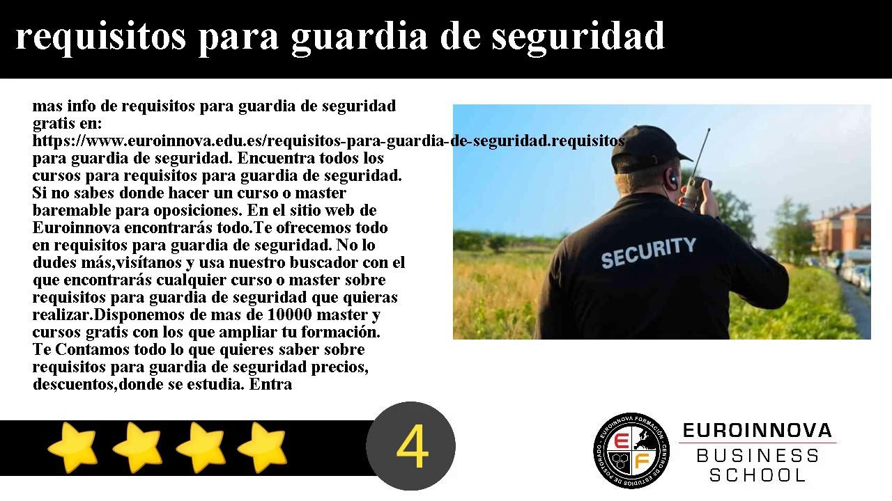 Curso Vigilante Seguridad Web Oficial Euroinnova