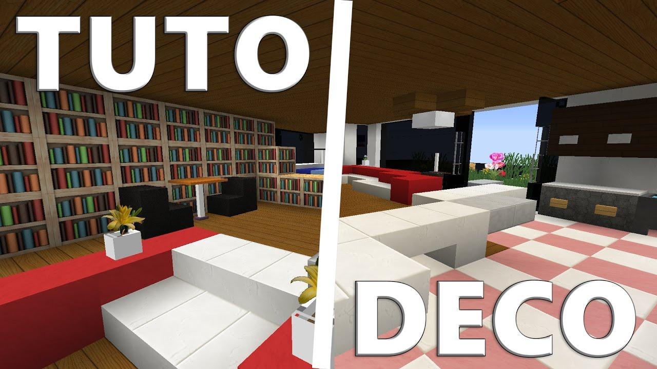 tuto deco immeuble moderne minecraft youtube. Black Bedroom Furniture Sets. Home Design Ideas