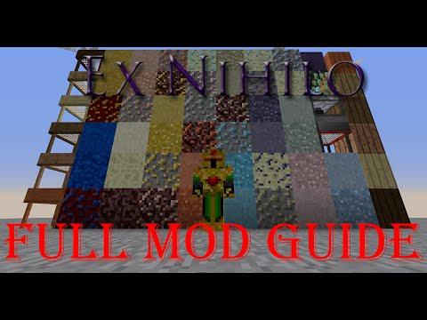 Ex Nihilo Guide (Minecraft 1.7.10 Mod Guide)