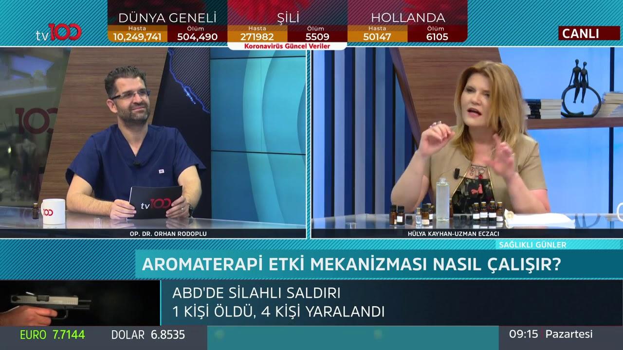 Uzm. Ecz. Hülya Kayhan ve Dr. Orhan Rodoplu İle -Sağlıklı Günler - 29 Haziran