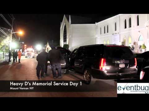 Heavy D Memorial Service Day 1