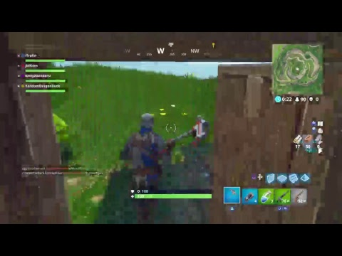Fortnite Montage #4 (Playing with a friend of mine)