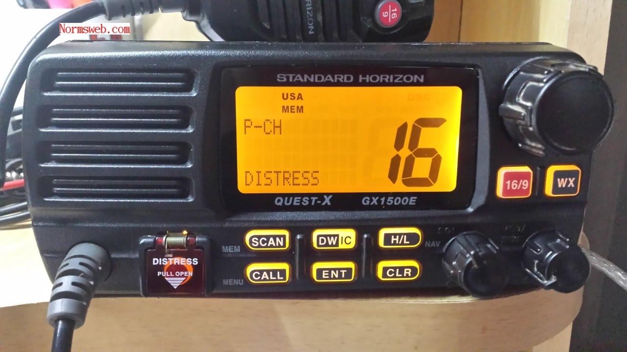 gx1500e marine radio repair cross polarised youtube rh youtube com standard horizon quest-x gx1500e manual