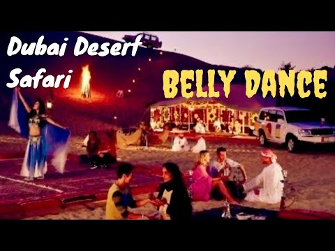 Dubai Desert Safari Tour Belly Dance *HD*