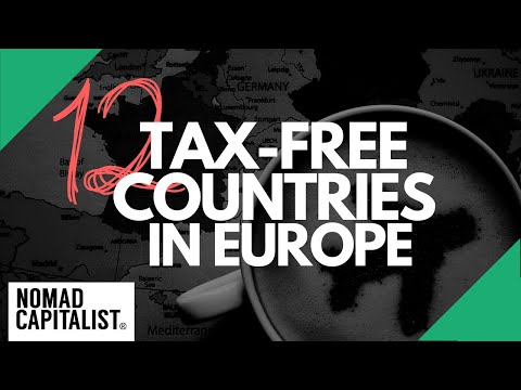 Tax-Free Countries In Europe