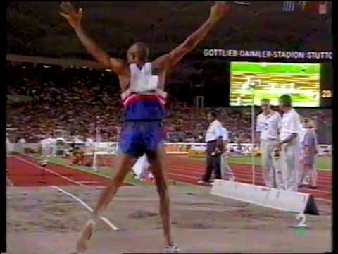 MIKE POWELL 8.59 m. Stuttgart 93