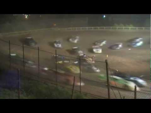 I-77 Raceway Park World of Outlaws Late Models Feature Highlights 5-27-2012