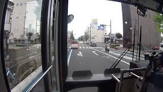 【前面展望】豊橋駅~新城駅【豊鉄バス 新豊線】
