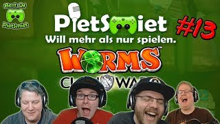 Worms CLAN WARS ┊ #13 🎮 Best Of PietSmittie