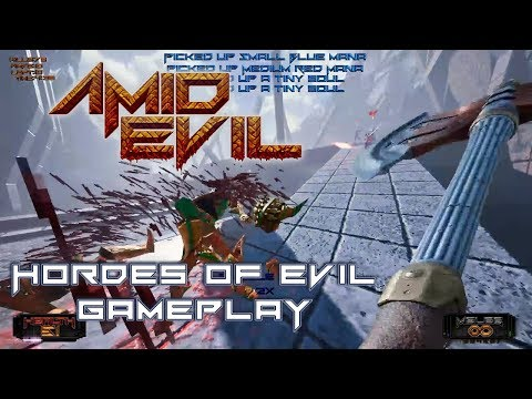 AMID EVIL - Hordes of Evil (Endless Mode) Gameplay