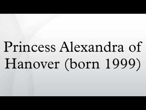 Princess Alexandra of Hanover (born 1999)