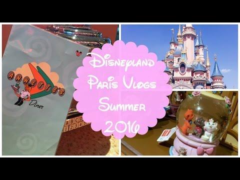 Disneyland Paris Summer 2016 Day One | Travelling, Annette's Diner & Kyriad