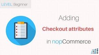 nopCommerce. Adding checkout attributes thumbnail
