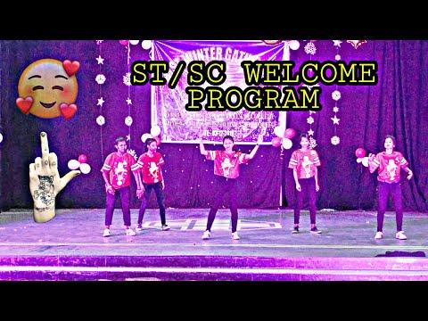 Crazy Girls Dancest/sc Welcome Programevening College Rourkelanew Nagpuri Video Dance-2019