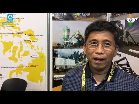 Customer review Atlas concrete batching plant from Malaybalay, Budiknon, Philippines