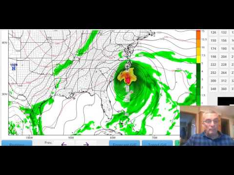 Hurricane Matthew Hurricane Warnings GFS European Model 10032016 0900