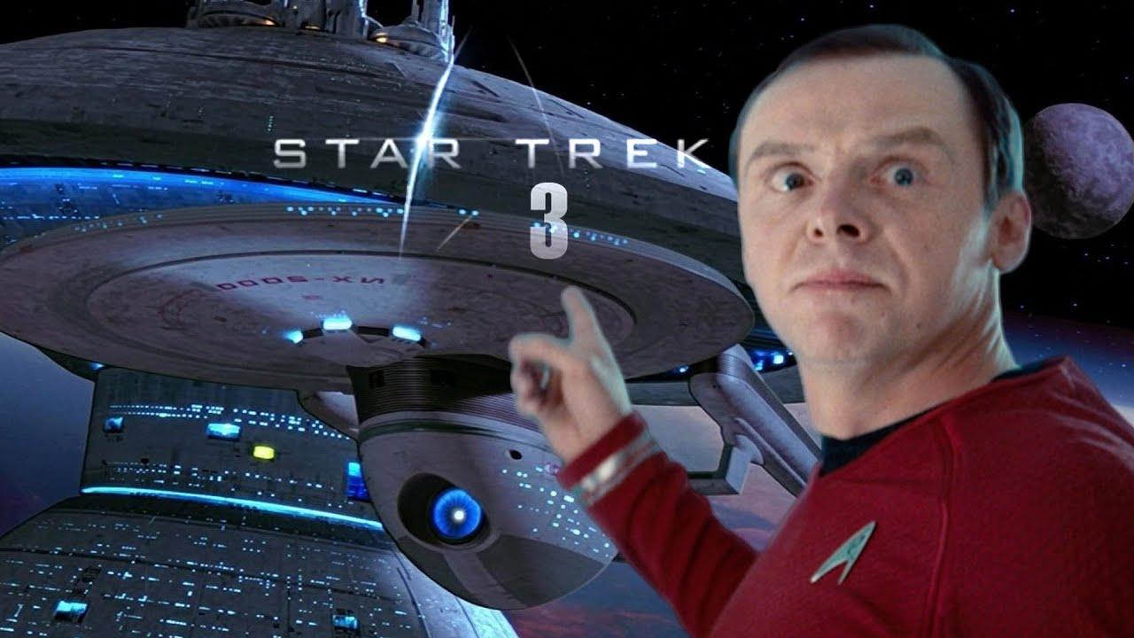 Star Trek Wallpaper Hd Actor Simon Pegg To Write Star Trek 3 Amc Movie News