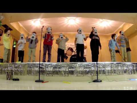 Cloverleaf School Spring Concert 2013: Masks!