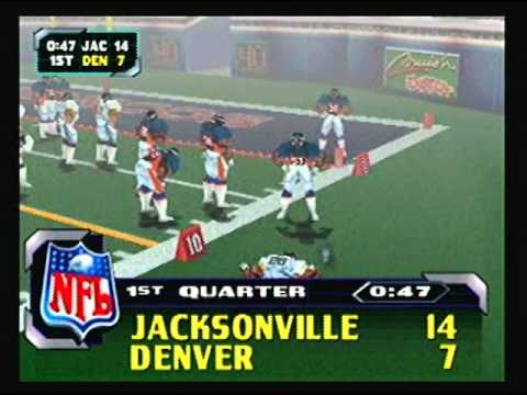NFL Blitz 2000 - Jaguars vs Broncos (1st Half)