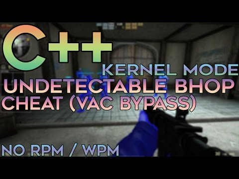 C/C++ Kernel Mode / Game Hacking — CS:GO Undetectable External Bunnyhop! (VAC Bypass)