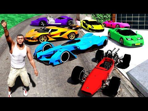 Collecting TRILLIONAIRE SUPER CARS in GTA 5!