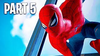 Spider Man PS4 Walkthrough Part 5 (Marvel's Spider-Man PS4 Pro Gameplay)