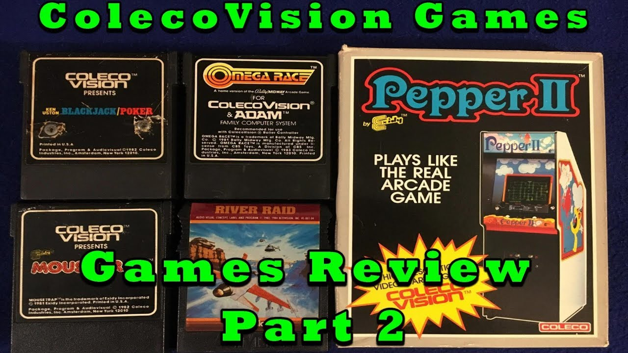 DBPG: ColecoVision Games Review - Part 2